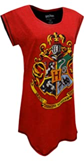 Harry Potter Hogwarts Juniors Nightshirt Nightgown Pajamas (Teen/Adult)