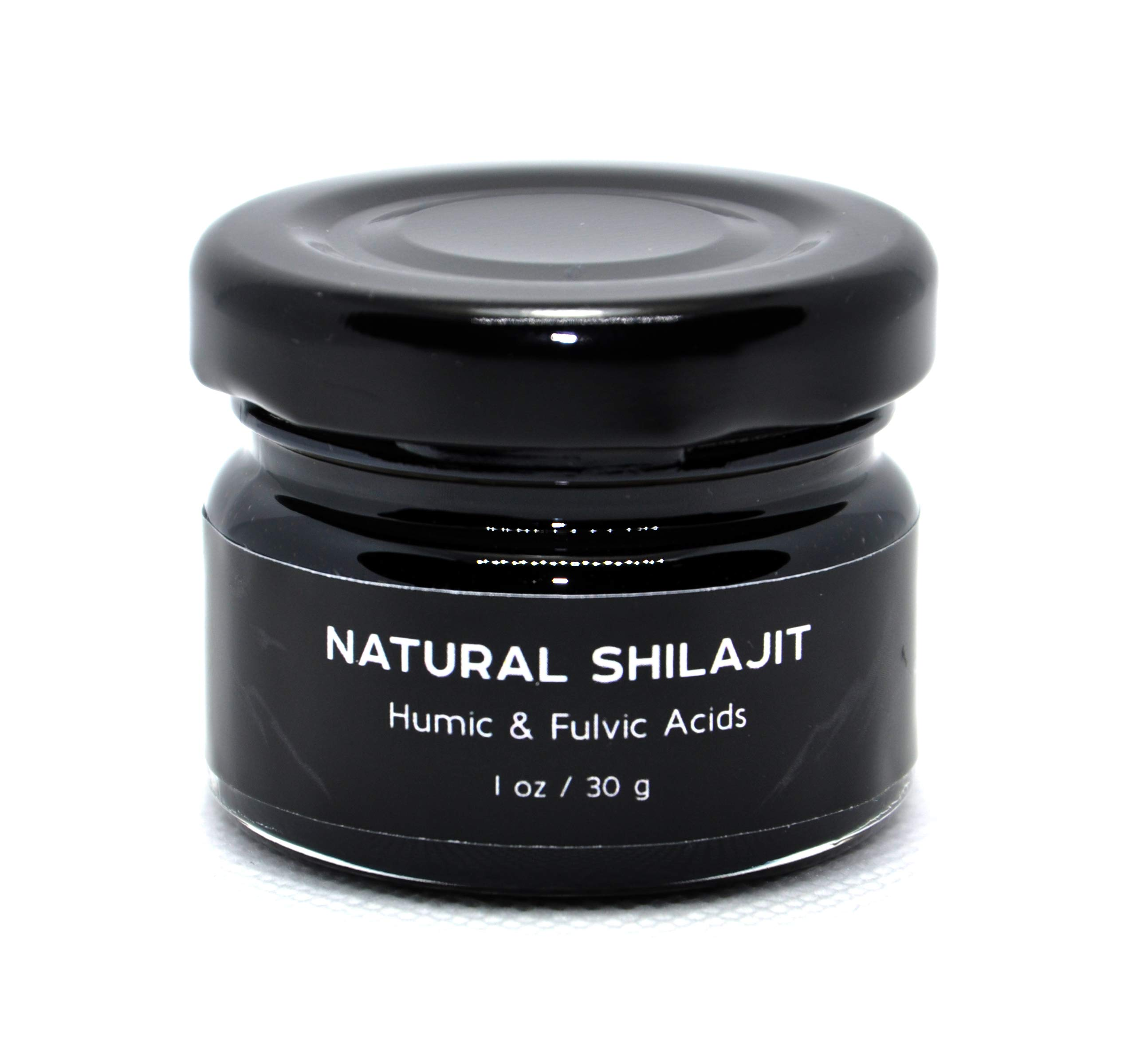 Shilajit Supplement. Rich Fulvic & Humic Acid. Supports Immunity. Lab Tested for Safety.