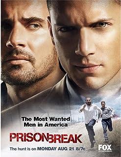 Prison Break (24inch x 31inch / 60cm x 78cm) Silk Print Poster - Seide Plakat - 5CBF19