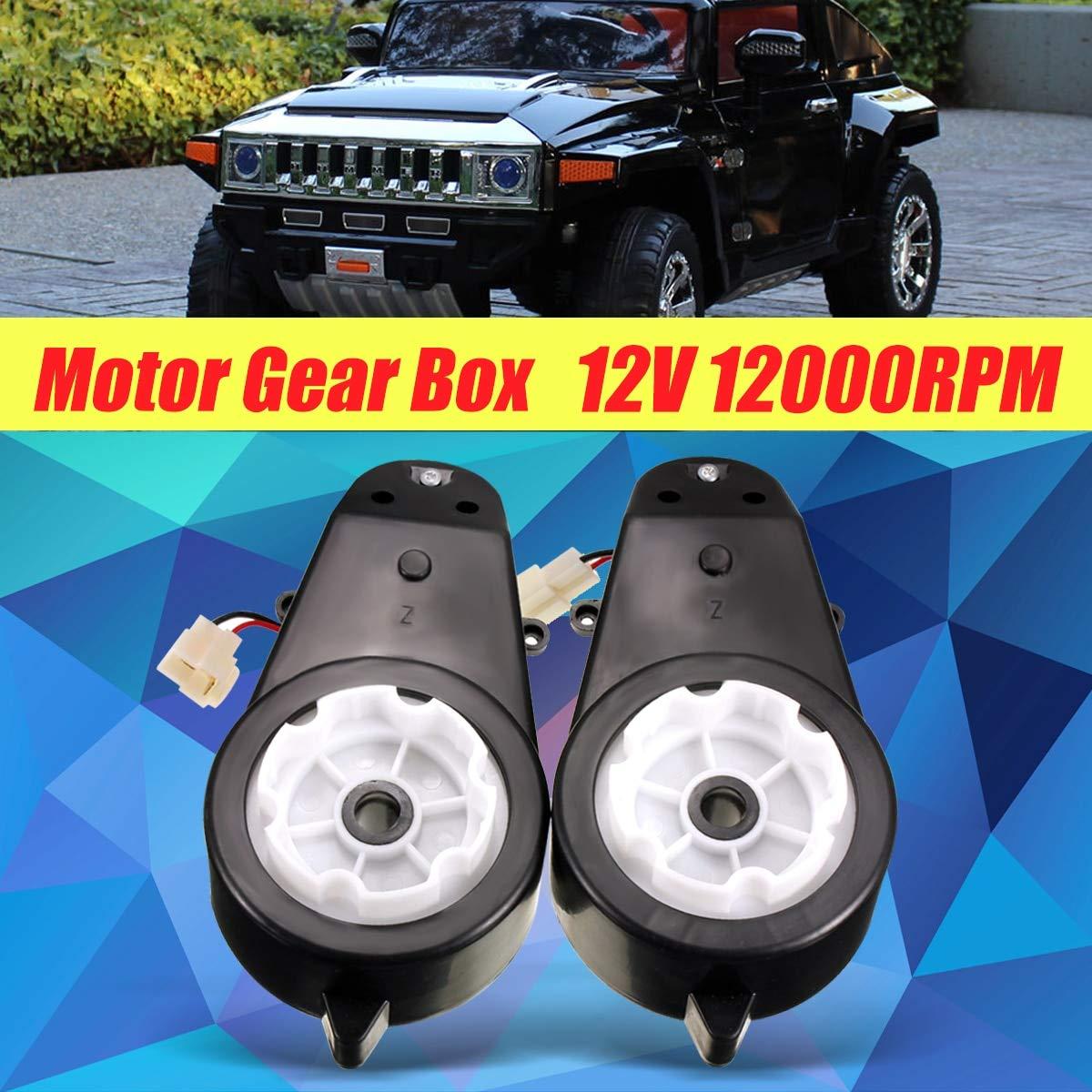 Amazon.com: GOLDEN14STAR - 114V Ride On Electric Car Motor ...   12v hummer