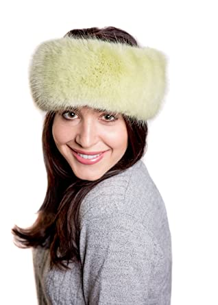 Faux Fur Headband - Willow Green  Amazon.co.uk  Clothing 09bbcc7d81c