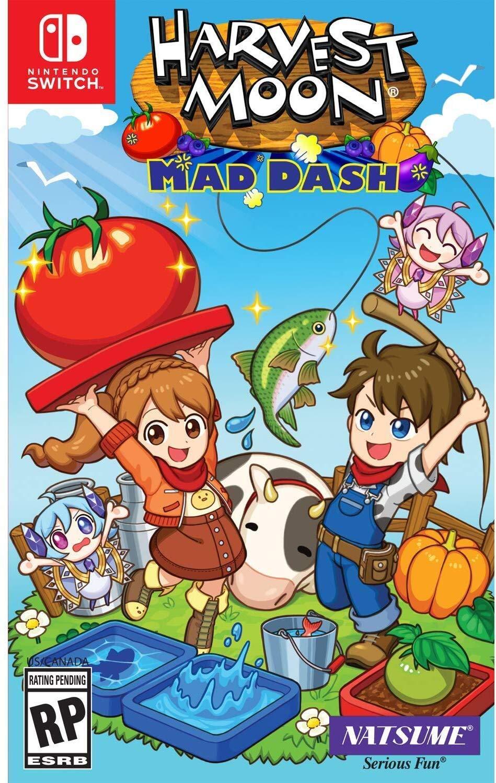 Harvest Moon: Mad Dash - Nintendo Switch Standard Edition (Renewed)