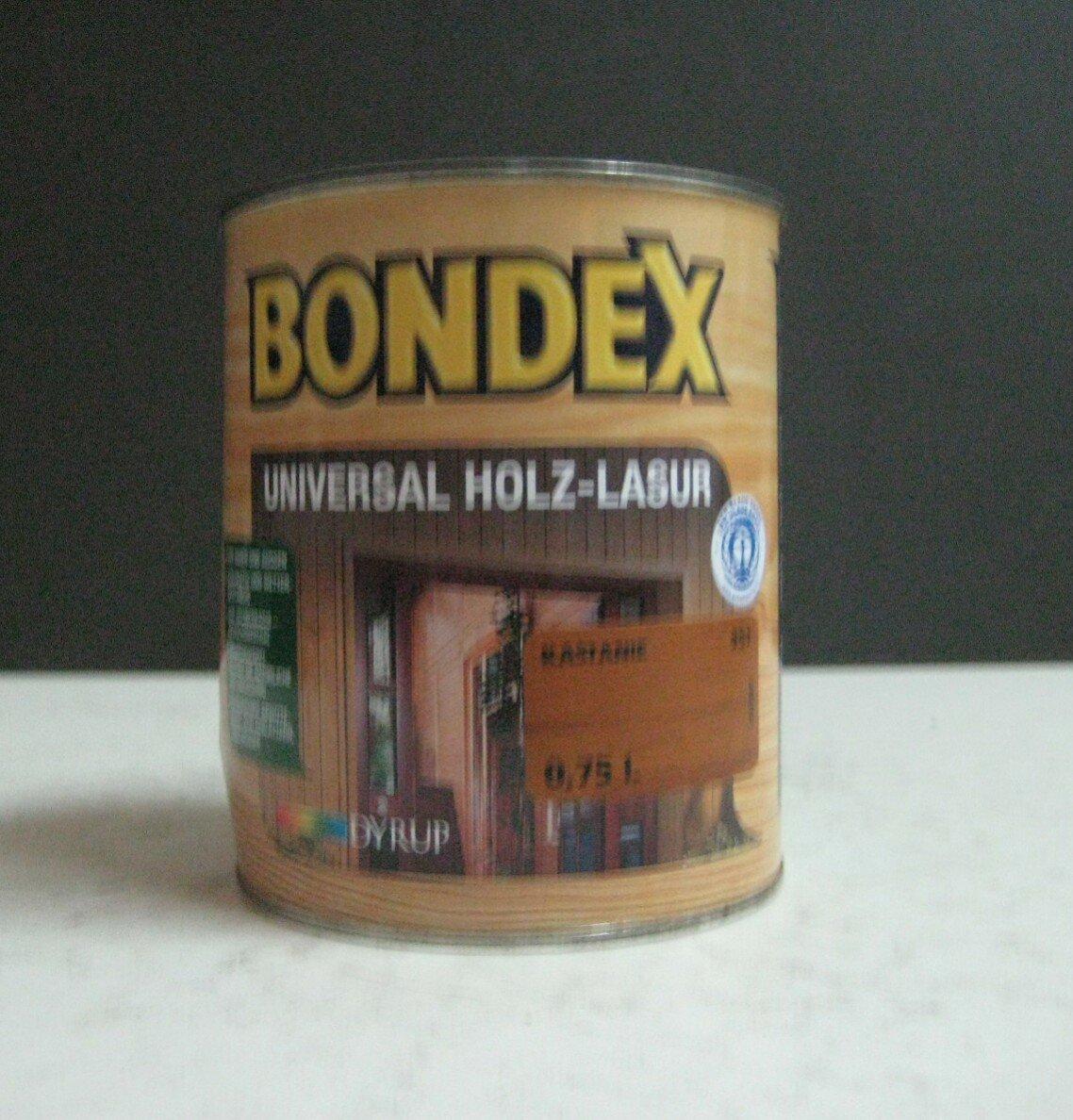 BONDEX Universal Holzlasur 750ml Kastanie 951 fü r Innen und Aussen Dyrup