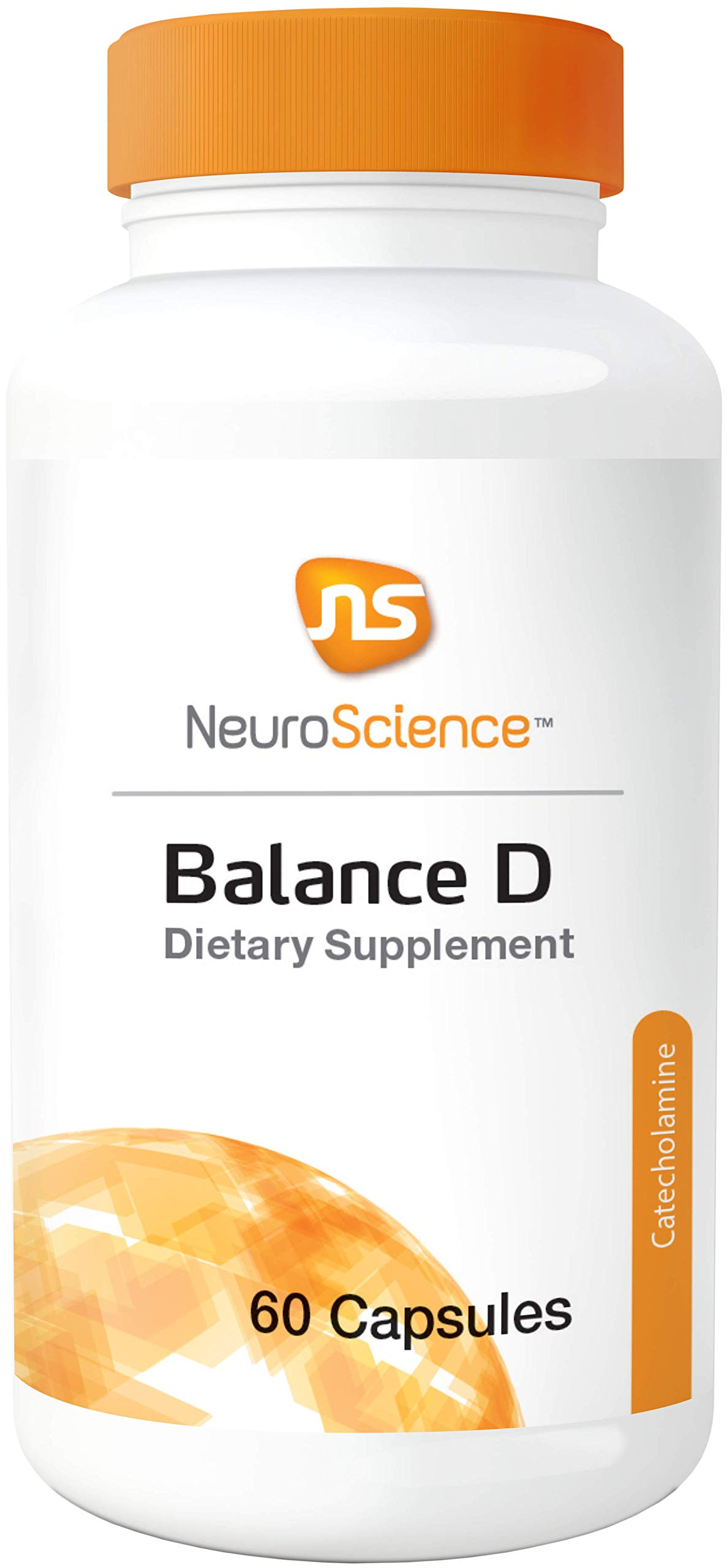 NeuroScience Balance D - Mood Support with Ingredients Important for Dopamine Synthesis (60 Capsules) by NeuroScience