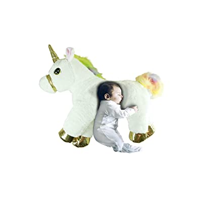 """Soften Unicorn Throw Pillow, 23"""" Emoji Plush Pillow for Couch, Home Decorations and Birthday Party Supplies Favors, Popular Unicorn Shape: Home & Kitchen"""