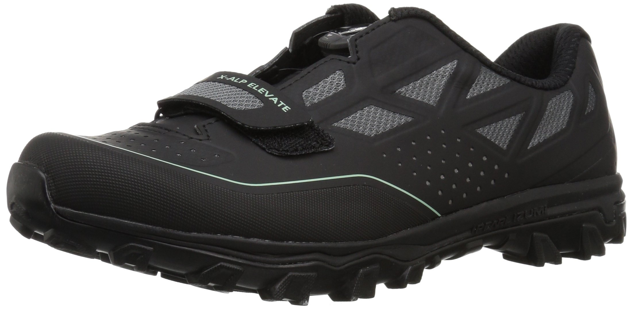 Pearl Izumi Women's W X-ALP Elevate Cycling Shoe, Black/Black, 42.0 M EU (10 US)