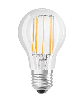 Osram Retrofit Classic A - Lámpara LED, E27, 11W=94W, color blanco