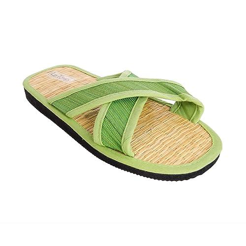5bd29b6fd2f Sonnenscheinschuhe® - Sandalias de vestir para mujer verde verde lima   Amazon.es  Zapatos y complementos