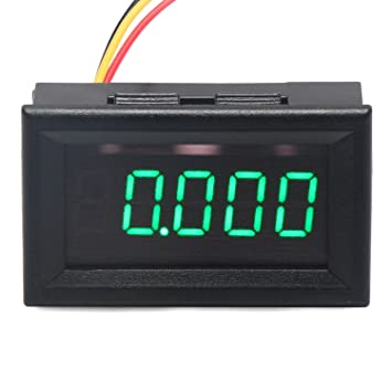 led sign wiring diagram led wiring diagrams online led sign wiring diagram description drok 0 36 5 digits dc voltmeter panel mounting meter 0 33 000v 12v