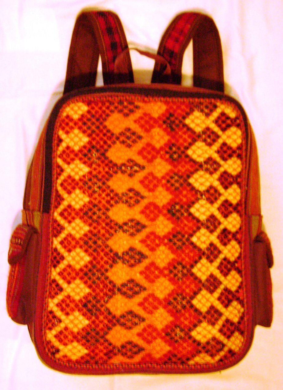 Fine Artistic Handwoven Backpack