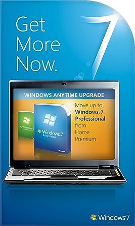 Microsoft windows 7 pro w/ upgrade to windows 10 pro.