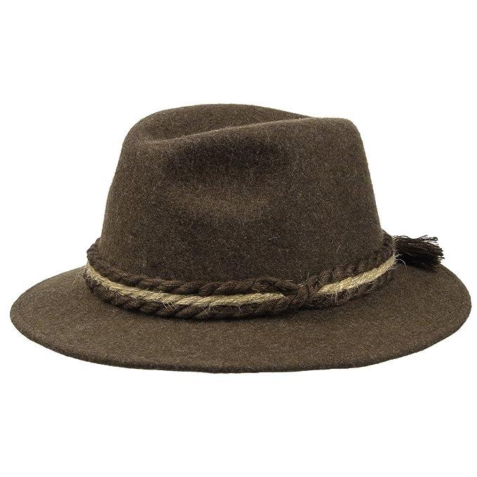Cappello Tradizionale in Feltro di Lana Tirolese da camminatore  Amazon.it   Abbigliamento ff8afd89c961