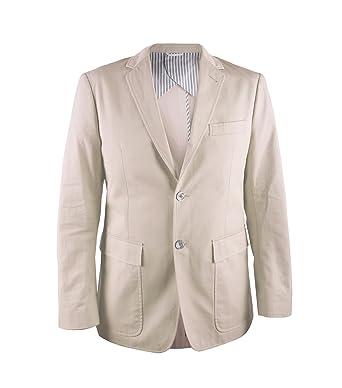 94535c83094 Thom Browne Beige Blazer Jacket Mens MJU004AW5146 at Amazon Men's ...