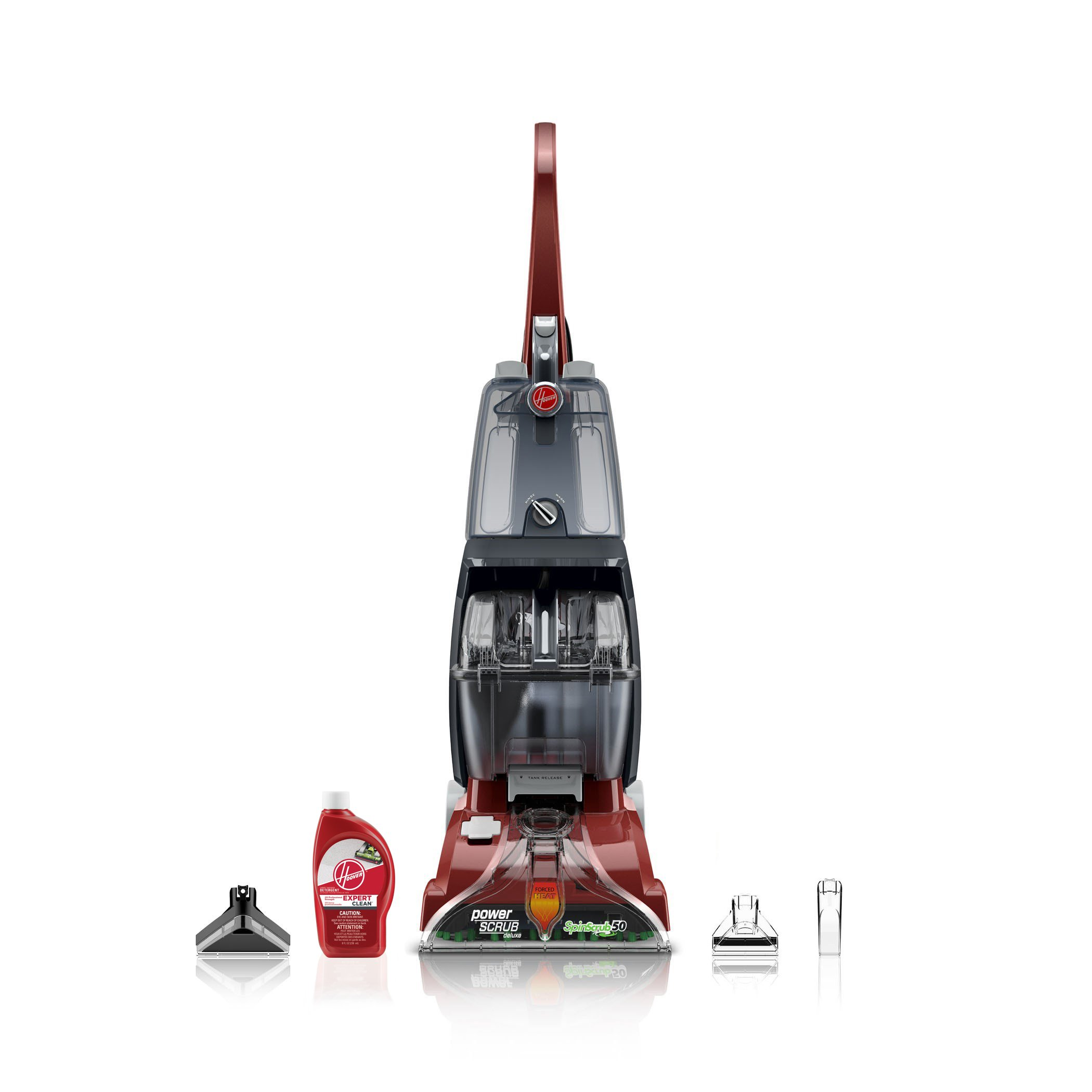 Hoover Power Scrub Deluxe Carpet Washer FH50150 by HOOVER