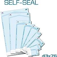 Bolsa esterilizadora autoadhesiva para autoclavos, 200 unidades, 43