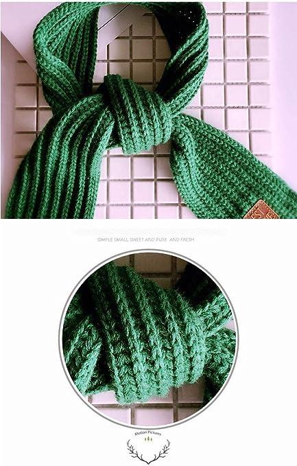 Hangaga Children Girls Boys Scarf Knit Wool Autumn And Winter
