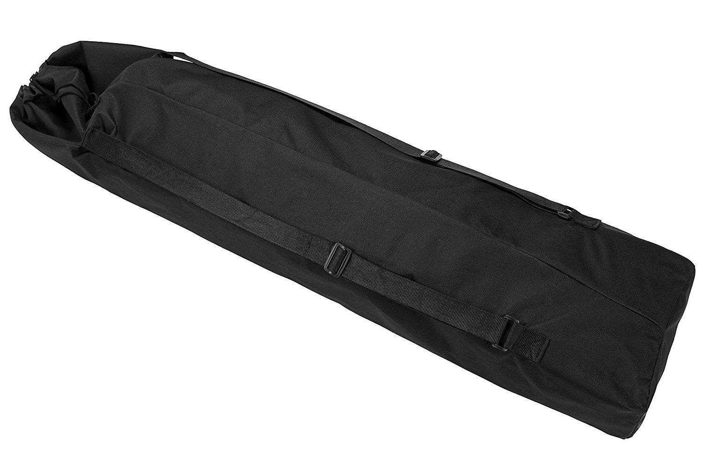Longboard Skateboard Carry Bag - Portable Skateboard One-shoulder Bag Handy Backpack, Black by YS Sport (Image #1)