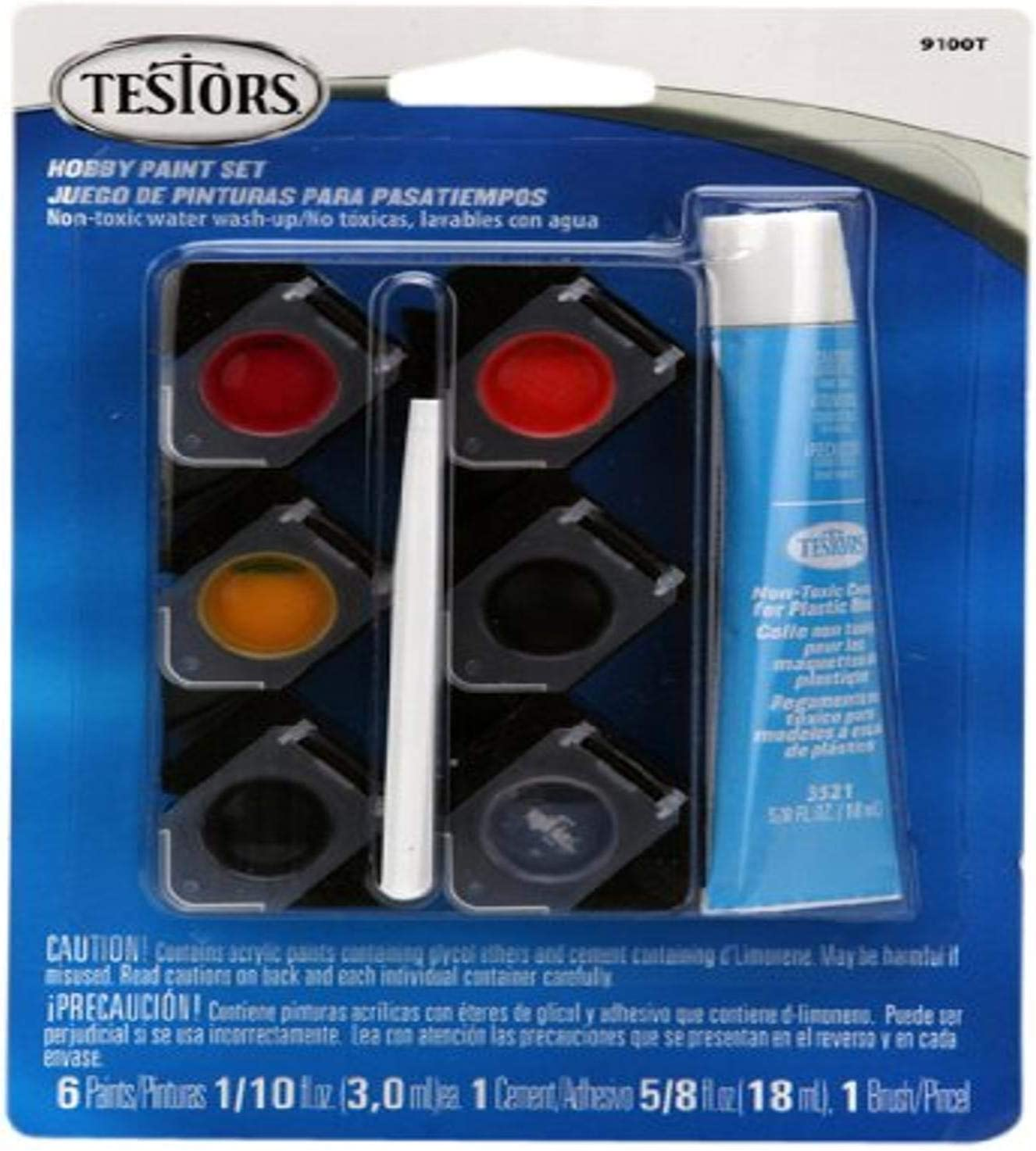 Testors Acrylic Pods Paint Kit, Multicolor