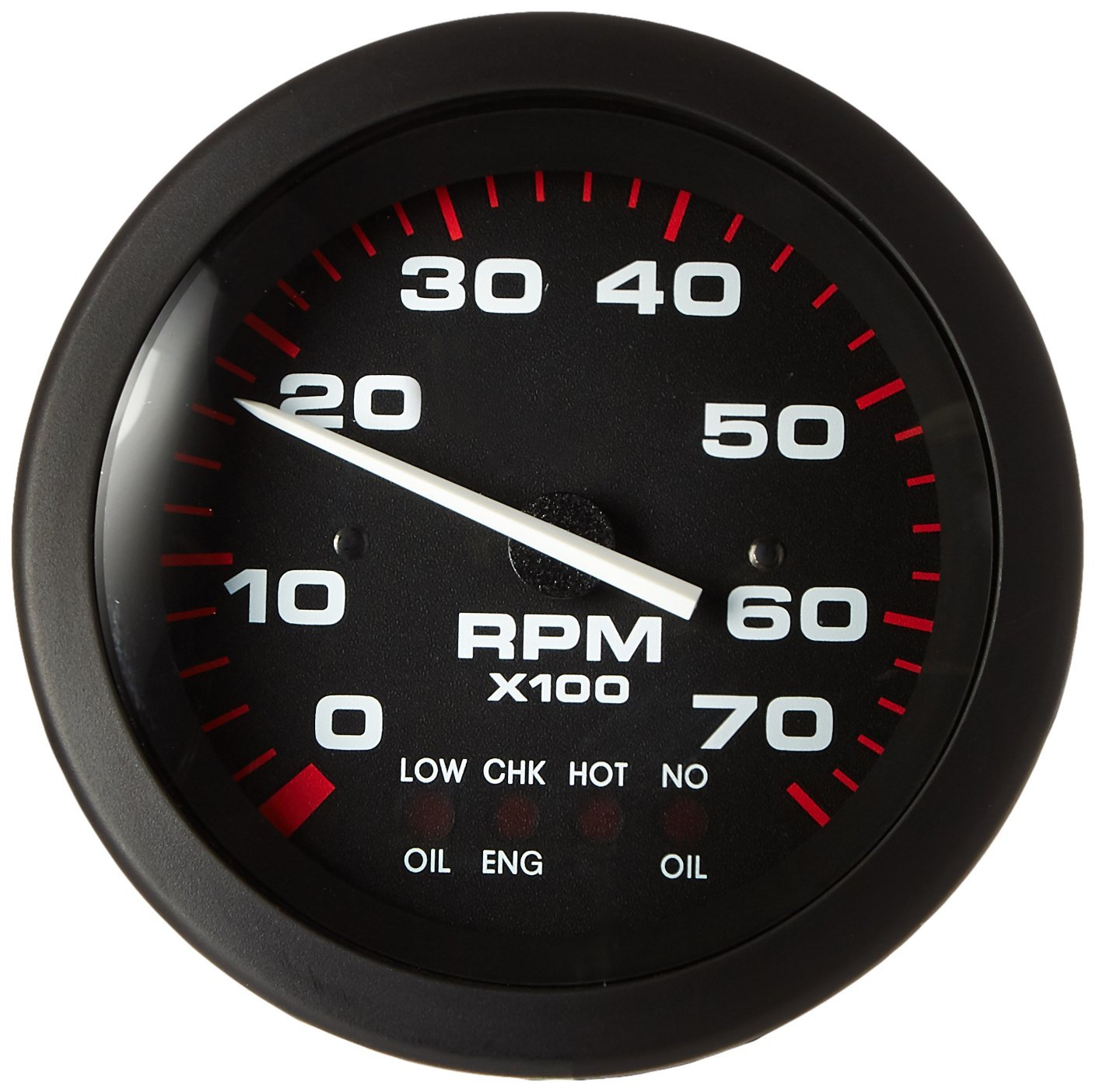 "Amazon.com: Sierra International 58935P Amega Domed Systems Check On  Johnson/Evinrude 0-7000 Rpm Electric Tachometer, 3"": Automotive"