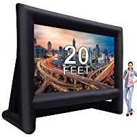 Deals on Laika Factory 20 Feet Inflatable Outdoor Movie Projector Screen