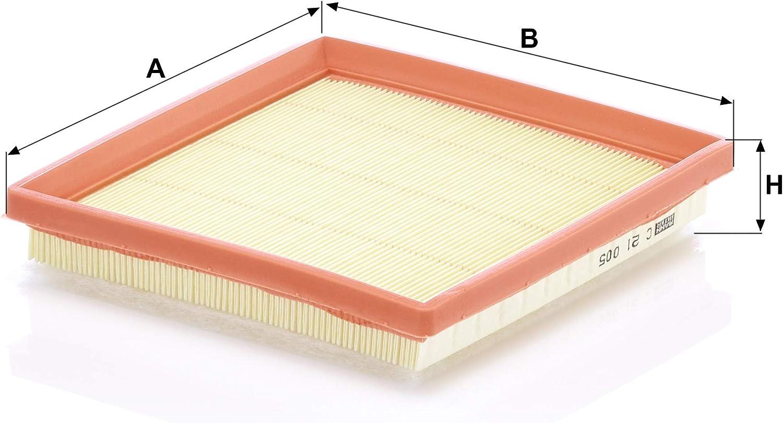 Mann Filter Luftfilter C 30 027 Für Pkw Auto