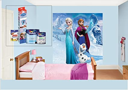 Dulux Bedroom In A Box - Disney\'s Frozen. Ideal for kids ...