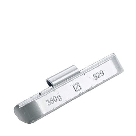 10x Pesos de equilibrio Tipo529 350g Hofmann Power Weight, Pesos equilibrado tira, Pesos de