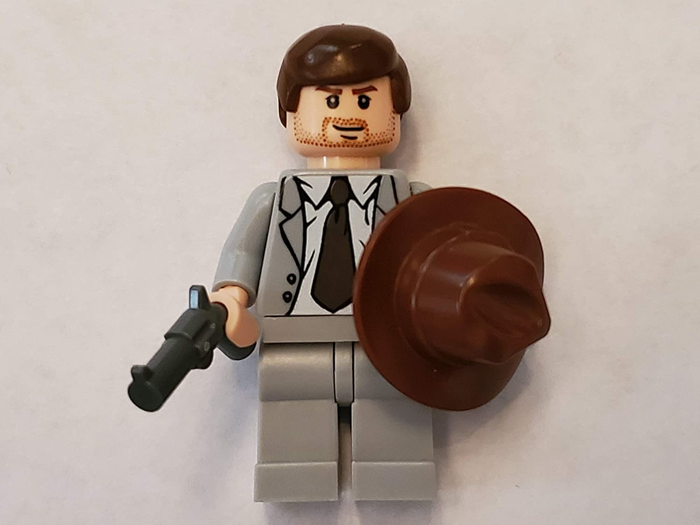 LEGO Indiana Jones Minifig Indiana Jones Gray Suit