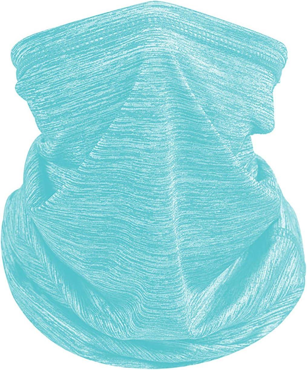 BRZSACR Bandana Multifunción, Bufanda para Hombre Mujer, Pañuelo para La Cabeza, Protección UV, Tubular Original,Senderismo, Montar a Caballo, Montar en Moto, etc.