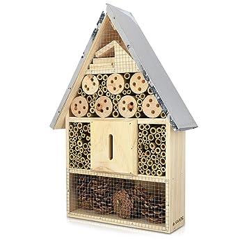 Navaris Insektenhotel Aus Holz Versch Grossen Und Designs