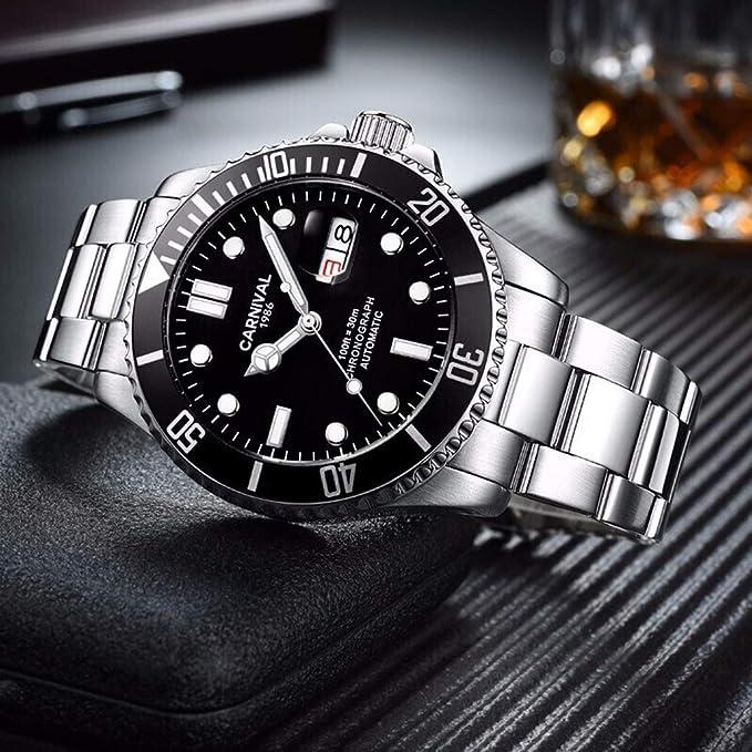 Amazon.com: Relojes mecánicos automáticos para hombre con ...