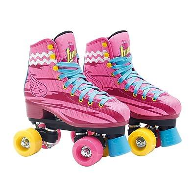 Soy Luna - Quad Roller Skate 4 wheeled (Giochi Preziosi YLU00421) (34-35) : Sports & Outdoors