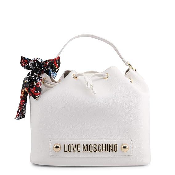 308ed8f5ec8 Love Moschino JC4122PP16LV 0100 White Hand Bag  Amazon.co.uk  Clothing