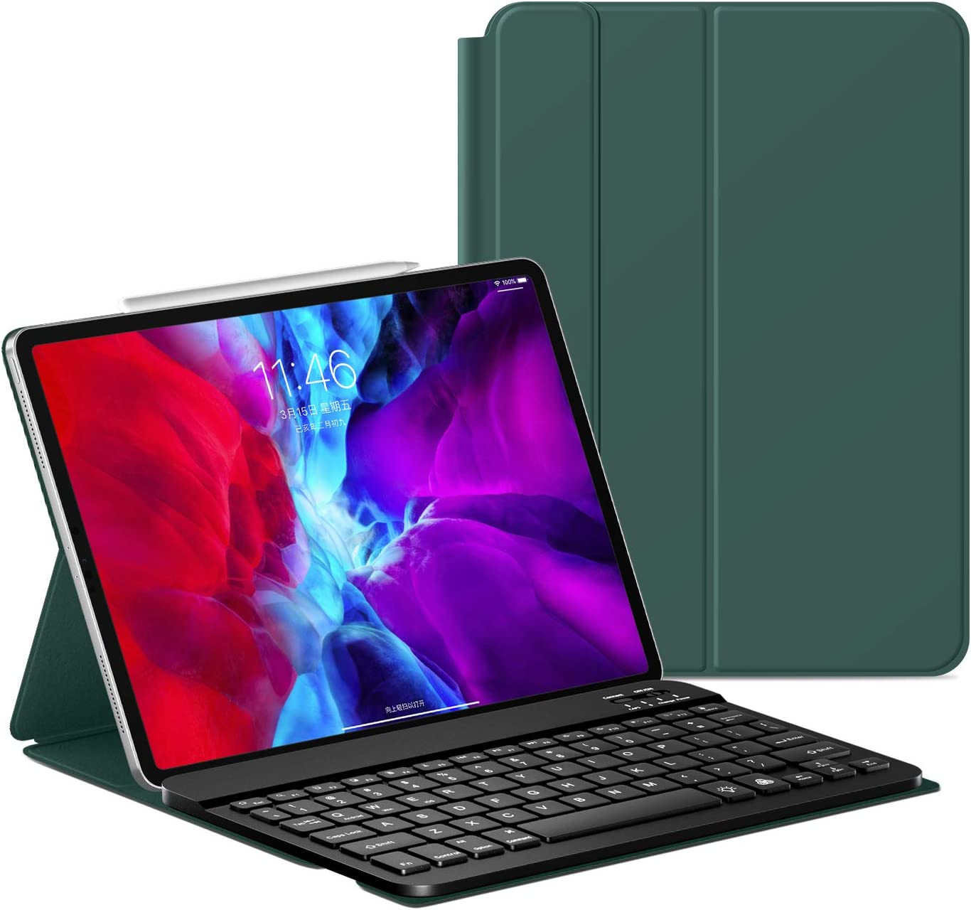 Amazon.com: New iPad Pro 11inch Keyboard Case 2021/2020 ...