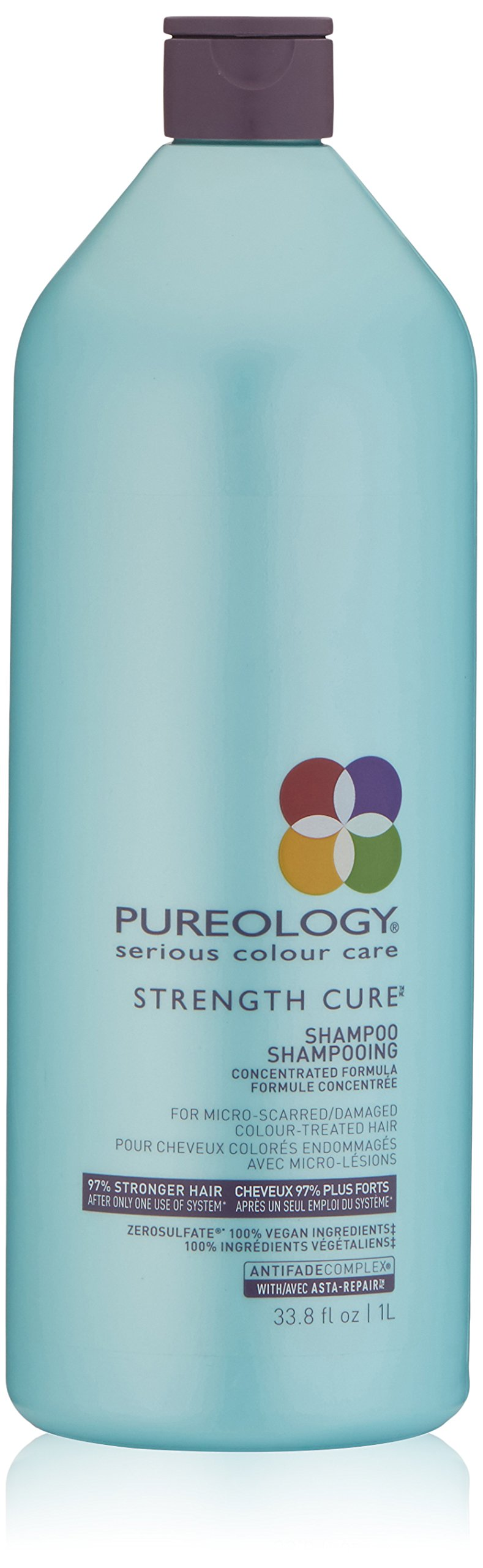Pureology Strength Cure Sulfate Free Shampoo, 33.8 Fl. Oz by Pureology