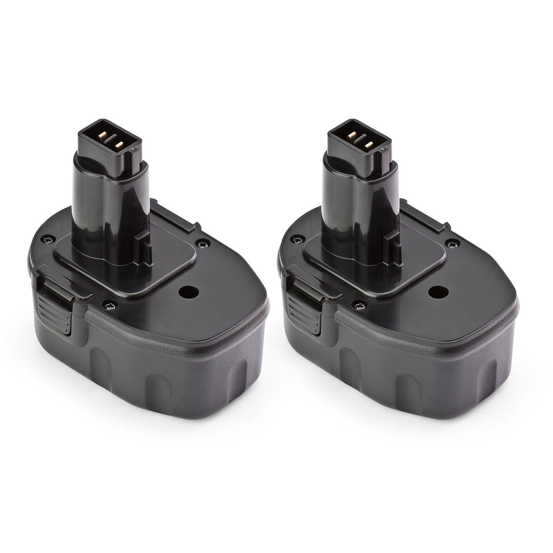 2 x ExpertPower 14.4v 1500mAh NiCd Replacement Battery for Dewalt DW9094 DW9091 DC9091 DE9038 DE9091 DE9092 DE9094 DE9502