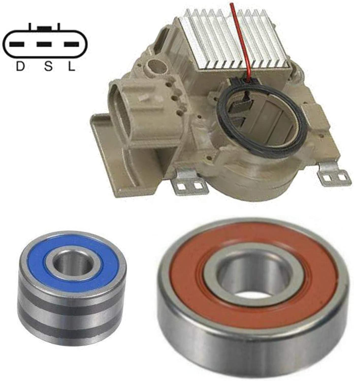 13820RK Alternator Rebuild Kit for 1999-2002 Forester 1999-2001 Impreza; Regulator Brushes Bearings