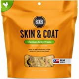 Bixbi Dog Jerky Treat, Skin & Coat, Chicken, 12 Ounce