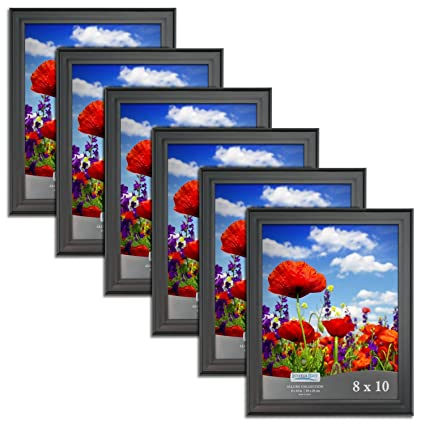 Amazon Icona Bay 8x10 Picture Frames 8 X 10 6 Pack Black