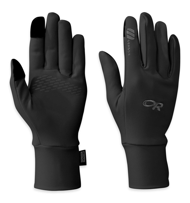Outdoor Research Women's PL Base Sensor Gloves, Black, Large