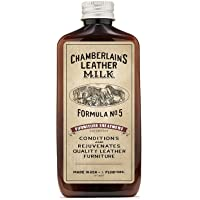 Leather Milk Leather Furniture Conditioner and Cleaner - Furniture Treatment No. 5 - for All Natural, Non-Toxic Leather…