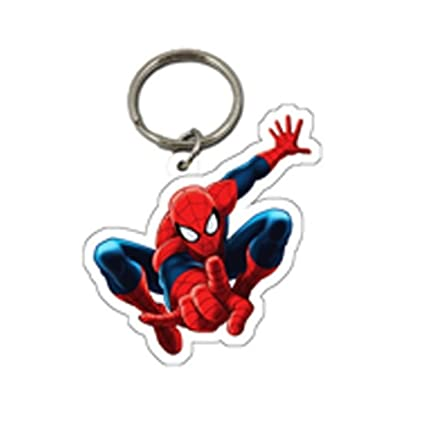 Spiderman oficial infantil/niños Character llavero: Amazon ...