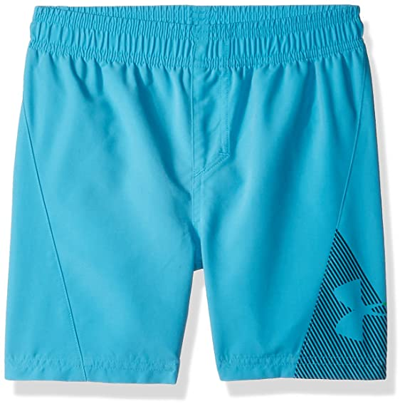 4efab684fabb4 Image Unavailable. Image not available for. Colour: Under Armour Slash Volley  Little Boys' Swim Shorts ...