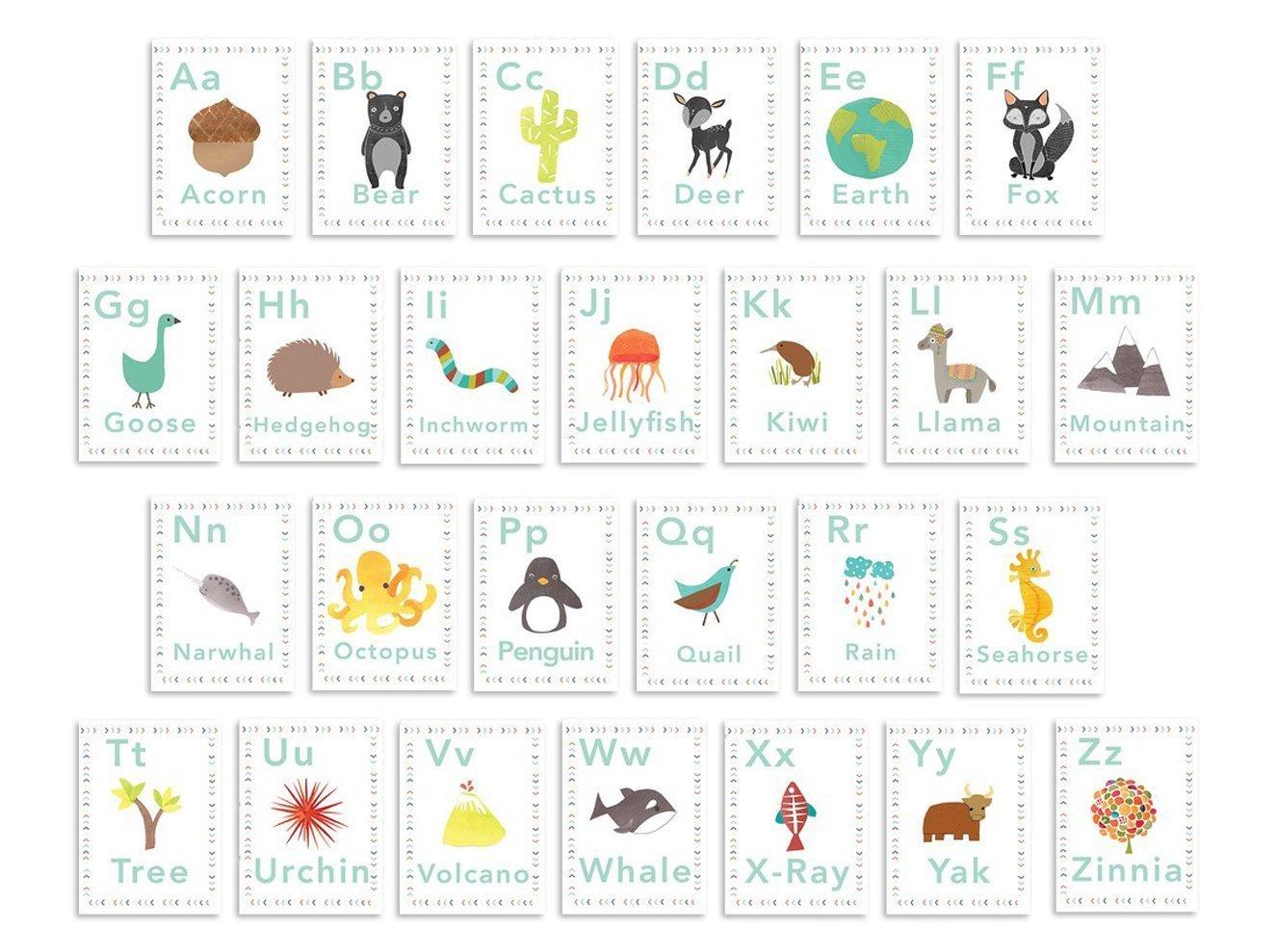 Alphabet Wall Art Cards