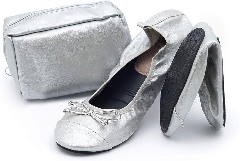 CatMotion Zapatos cómodos plegables en su bolso, Bailarinas para ...