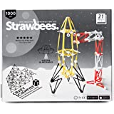 Strawbees Crazy Scientist Builder Kit - 200 Straws and 800 Connectors Set, Educational & Creative Building Toy, Tinkering & STEM Learning, Suitable for Children 5 Years & Up