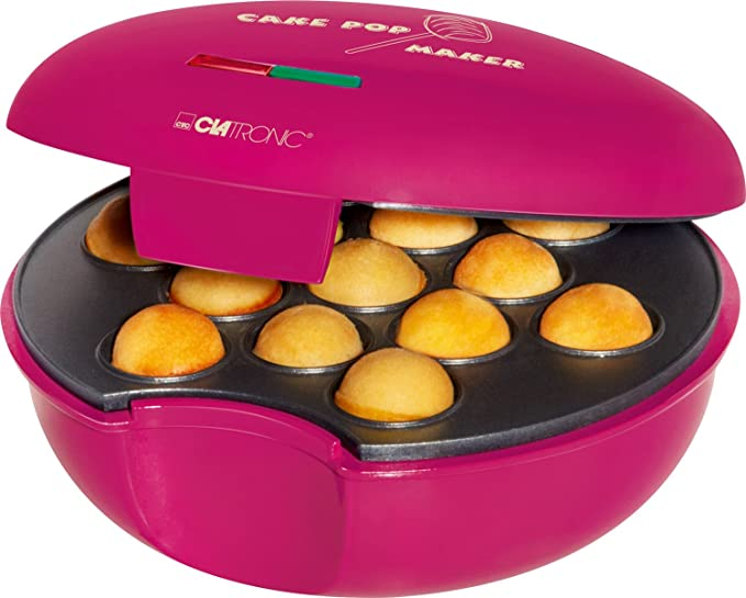 Clatronic CPM 3529 Máquina de Hacer Cake Pops, Placa Antiadherente, 900 W, Morado: CLATRONIC: Amazon.es: Hogar