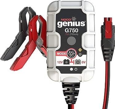 Amazon.com: Cargador de batería NOCO Genius G750 6 V/12 V ...