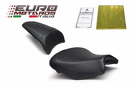 Kawasaki Ninja 650 Z650 Seat Covers 2017 2018 2019 Luimoto Black Front Rear