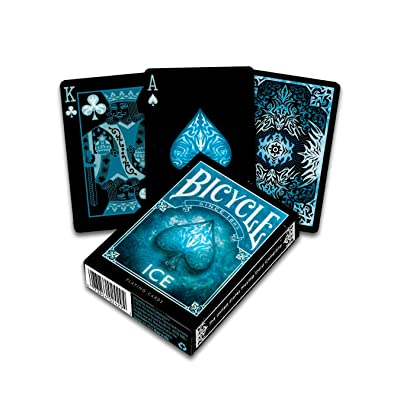 Bicycle Ice Theme Blue Playing Cards: Toys & Games